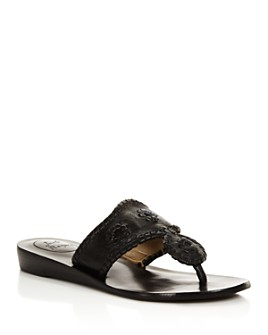 Jack Rogers - Women's Jacks Demi Wedge Thong Sandals