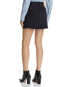 Levi's - Deconstructed Denim Mini Skirt in Ill Fated