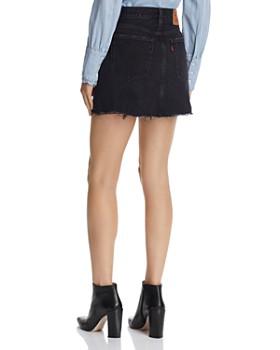 Levi's - Deconstructed Denim Mini Skirt in Ill Fated