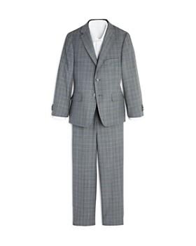 Michael Kors - Boys' Plaid Suit - Big Kid