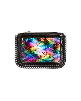 GiGi - Girls' Flip-Sequin Zip Clutch