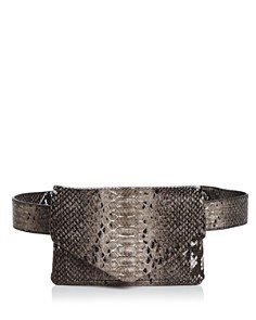 AQUA - Helen Owen x AQUA Snake Print Belt Bag - 100% Exclusive