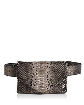 AQUA - Helen Owen x AQUA Snake Print Belt Bag - 100% Exclusive