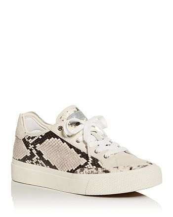 05119411da9b2b rag & bone Women's Army Snake-Embossed Low-Top Sneakers | Bloomingdale's