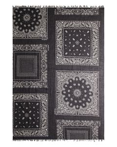 1bea8288dd The Kooples Spider-Skull Square Scarf | Bloomingdale's