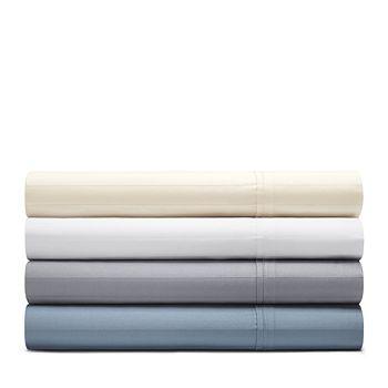 Bloomingdale's Essentials - Organic Dobby Stripe Sheet Set, Twin - 100% Exclusive
