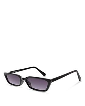 43a8c155471 ... 54mm BCBGENERATION - Women s Petite Peeper Slim Rectangular Sunglasses