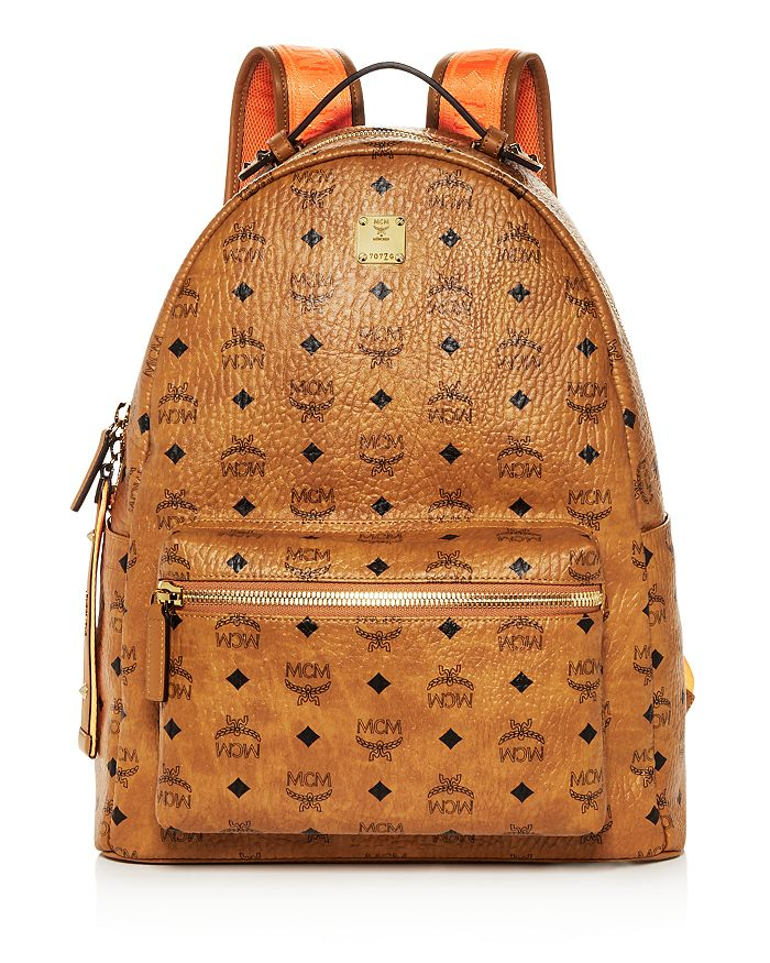 MCM - Stark Medium Leather Backpack - 100% Exclusive