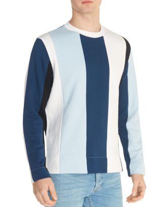 Striped Crewneck Sweatshirt by Sandro