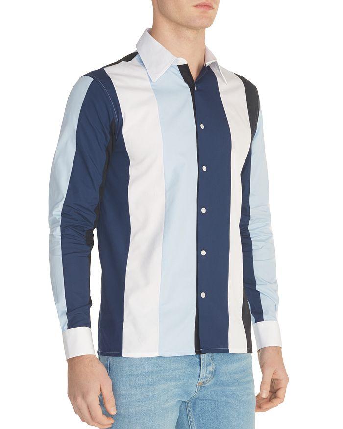 Sandro - Striped Slim Fit Button-Down Shirt