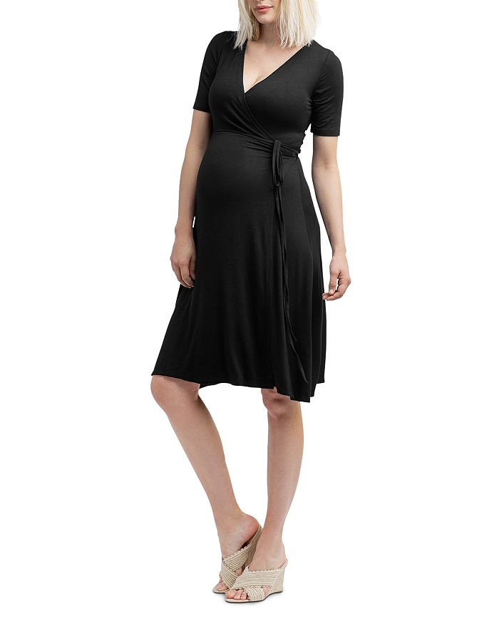 bae24be0f9d Nom Maternity Maya During & After Wrap Dress | Bloomingdale's