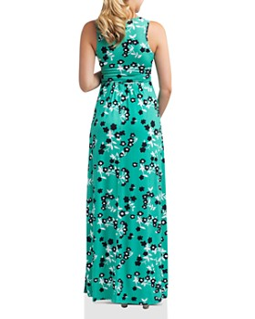 364ae95b90d ... Nom Maternity - Hollis Floral Print During   After Maxi Dress