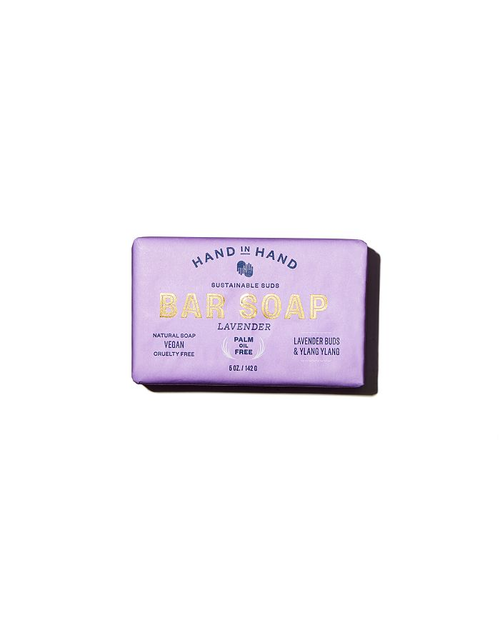HAND IN HAND - Lavender Bar Soap, 6 oz.