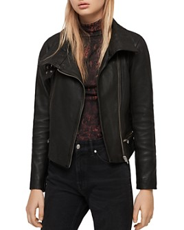 ALLSAINTS - Bales Leather Biker Jacket