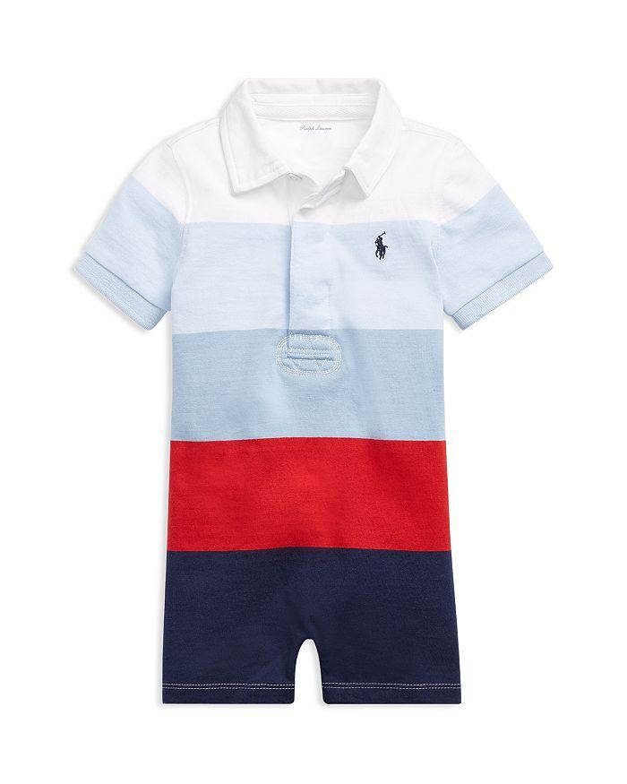 Ralph Lauren - Boys' Striped Rugby Shortall - Baby