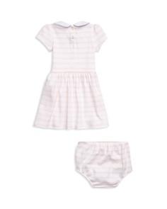 Ralph Lauren - Girls' Striped Interlock Dress Set - Baby