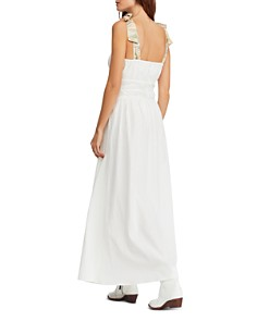Free People - Santorini Sleeveless Printed-Strap Maxi Dress