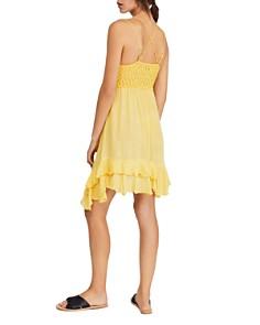 Free People - Adella Sleeveless Crochet-Trim Dress