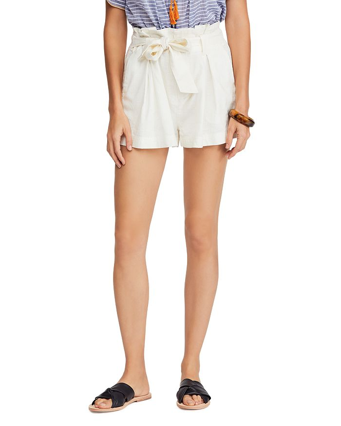 Free People - Everywhere You Go Paperbag-Waist Shorts
