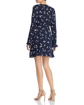 The Fifth Label - Sunny Floral Wrap Mini Dress