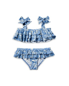 Scotch R'Belle - Girls' Ruffle Two-Piece Swimsuit - Little Kid, Big Kid