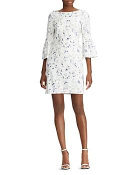 ecde66437ae Ralph Lauren - Floral Bell-Sleeve Dress ...