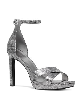 5af0a4c356c MICHAEL Michael Kors - Women s Alexia Metallic High-Heel Sandals ...