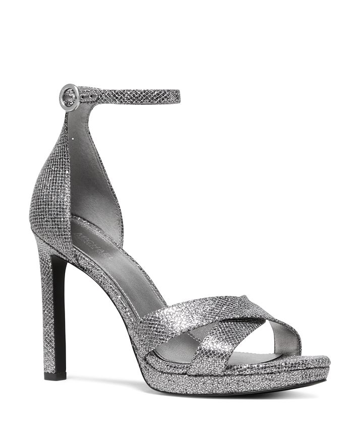 MICHAEL Michael Kors - Women's Alexia Metallic High-Heel Sandals