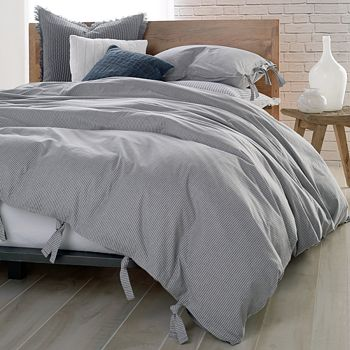 DKNY - PURE Stripe Duvet Cover, King