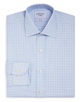 Ledbury - Haynes Check Slim Fit Dress Shirt