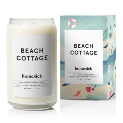 2020 Version Beach Cottage Homesick Scented Candle