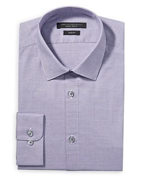 John Varvatos Star USA - Modern Gingham Slim Fit Dress Shirt