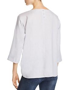 Eileen Fisher - Side-Tie Linen Top - 100% Exclusive