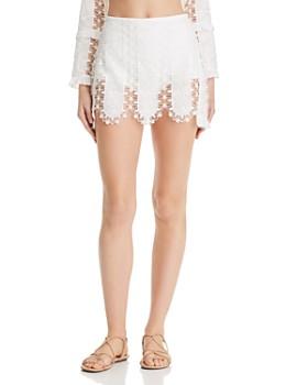 For Love & Lemons - Morrison Lace Micro Mini Skirt