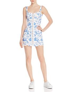 For Love & Lemons - Monika Hook-Front Mini Dress Brand Name