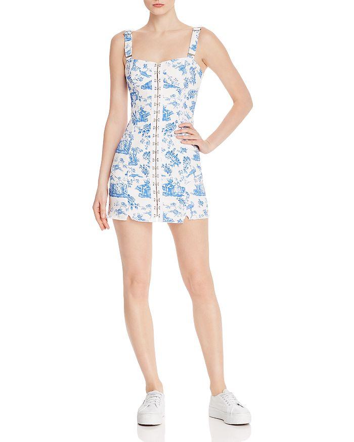 e30fce84bc5 For Love   Lemons - Monika Hook-Front Mini Dress Brand Name