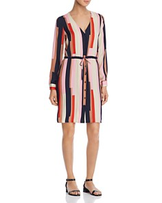 Vero Moda - Matilda Printed Satin Shirt Dress