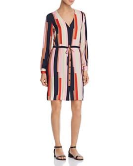 Vero Moda - Matilda Printed Satin Shirt Dress
