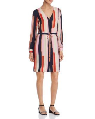 Matilda Printed Satin Shirt Dress by Vero Moda