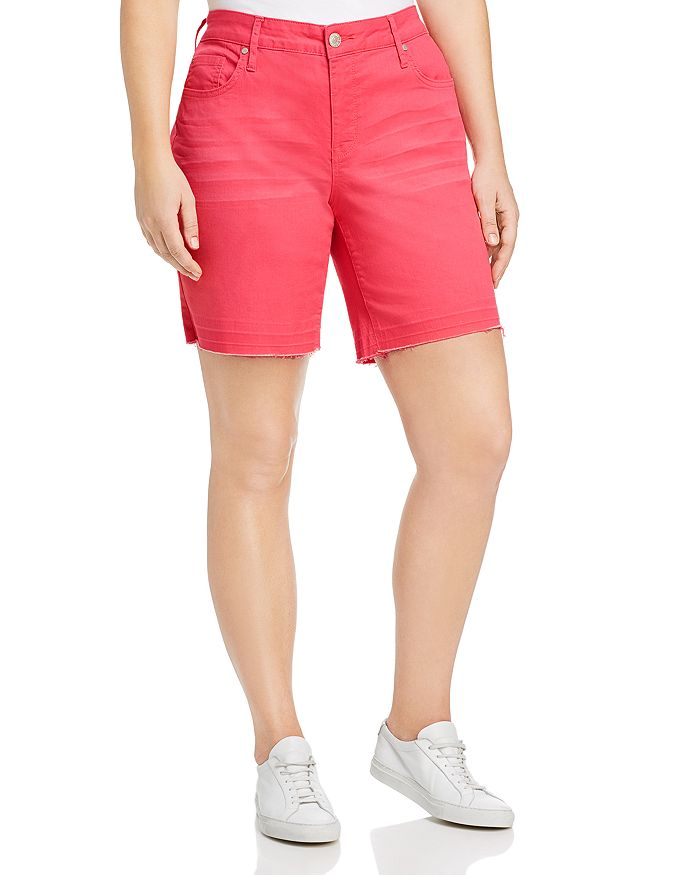 Seven7 Jeans Plus - Weekend Bermuda Shorts in Cayenne