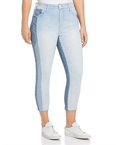 Seven7 Jeans Plus - High Rise Tower Cropped Skinny Jeans in Innovation