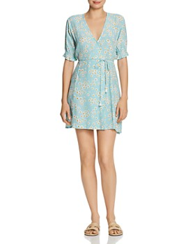 Faithfull the Brand - Mira Daisy-Print Wrap Dress