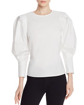 Rebecca Minkoff - Emile Balloon-Sleeved Top