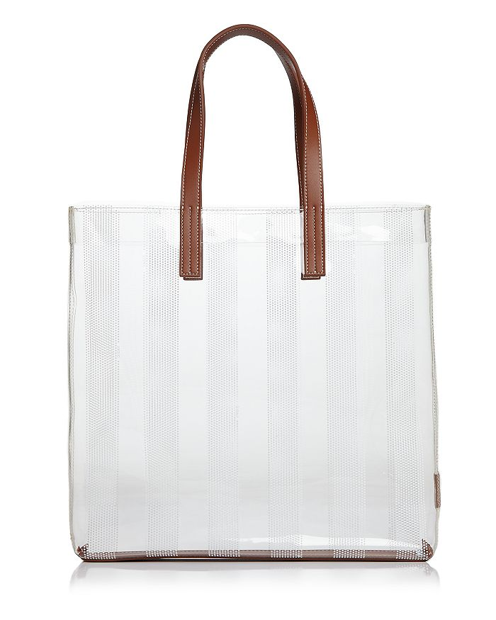 VASIC - Cue Striped Vinyl Tote