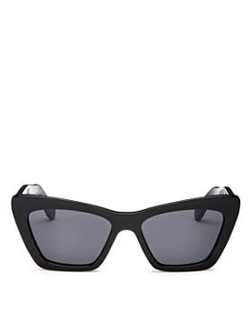 Salvatore Ferragamo - Women's Cat Eye Sunglasses, 55mm