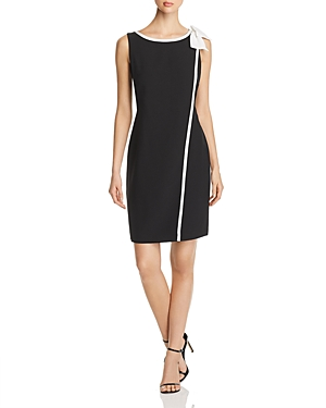 Karl Lagerfeld Paris Sleeveless Bow-Detail Dress
