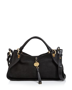 See by Chloé - Luce Leather & Suede Satchel
