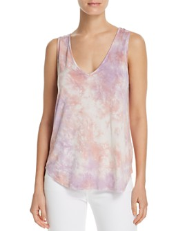 Splendid - Tie-Dye Scoop-Back Tank