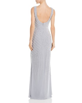 Avery G - Embellished Column Gown