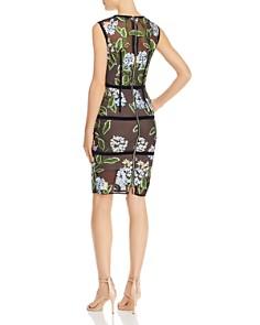 BRONX AND BANCO - Bridget Floral-Embroidered Dress